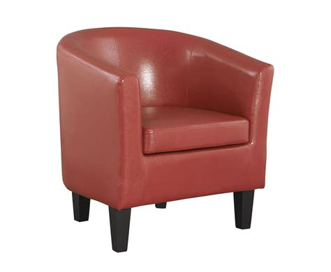 linden faux leather tub chair