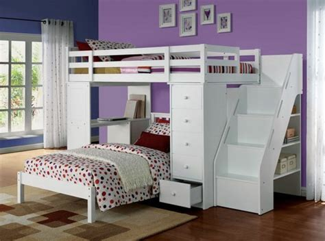 lit superposé avec bureau intégré lit en hauteur avec bureau intégré les atouts