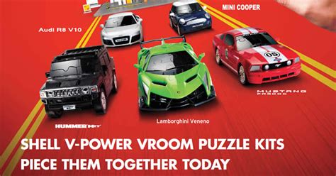 New V-power Vroom Puzzle Collectibles From 10 Oct