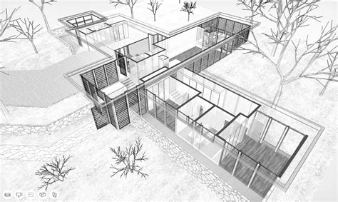 virtual    case study house   whitney