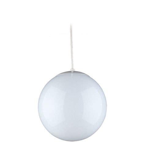 in light globes sea gull lighting hanging globe 1 light white pendant 6018
