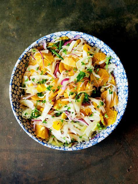 Citrus and fennel salad recipe : SBS Food