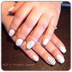 ongles gel blanc deco ongle fr