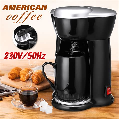 It not only comes with auto on/off technology, but you can set the water temperature manually, strength of brew, and accommodate various sizes. 300w mini single cup drip coffee machine makers electric automatic espresso machine at Banggood