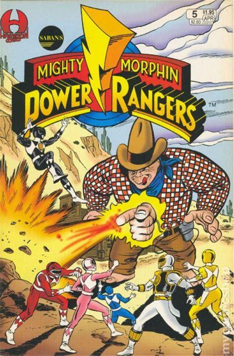 mighty morphin power rangers  comic books