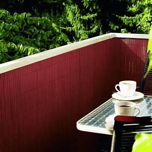 Balkon Sichtschutz Rattan : balkon sichtschutz aus bambus praktische und originelle idee ~ Markanthonyermac.com Haus und Dekorationen