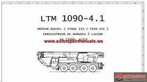 Liebherr Mobile Crane Ltm 1090