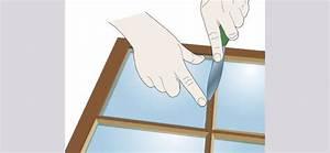 Remplacer Une Vitre : coller une vitre au mastic de lin ~ Melissatoandfro.com Idées de Décoration