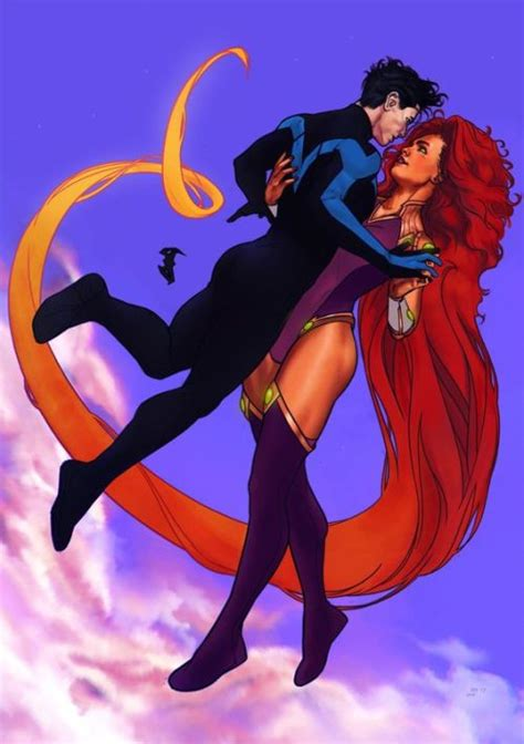 Nightwing And Starfire On Tumblr