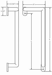 Angle Door Pull Instructions