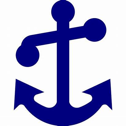 Anchor Navy Svg Clip Clipart States United