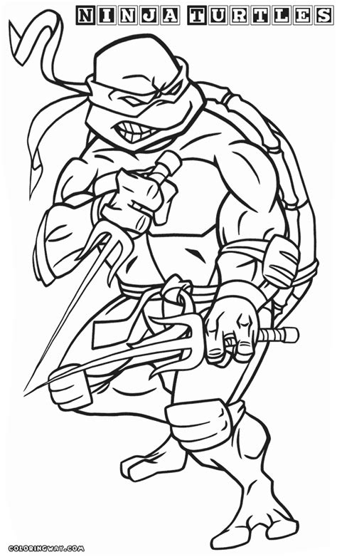 teenage ninja turtle coloring pages
