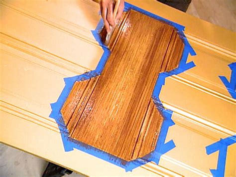 How To Stain Unfinished Beams  Faux Wood Workshop
