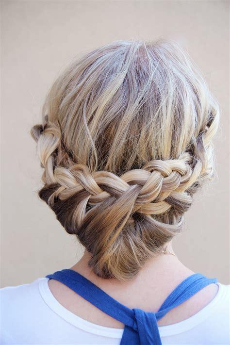 cute braids  long hair