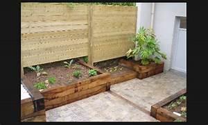 Bac Bois Potager : bac bois potager kerjardin mon rdv habitat ~ Melissatoandfro.com Idées de Décoration