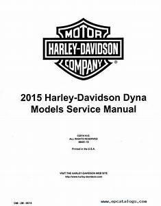 Download Harley Davidson Dyna 2015 Service Manual Pdf
