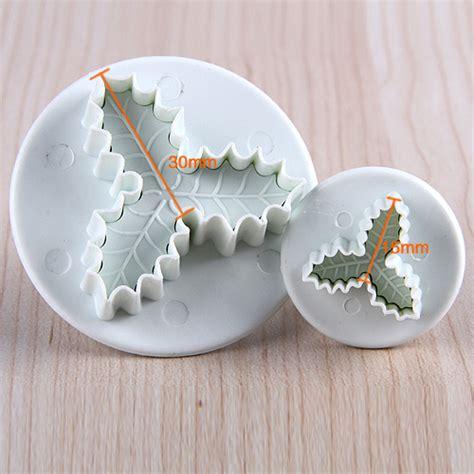 christmas xmas cake decorating cutter mold baking mould