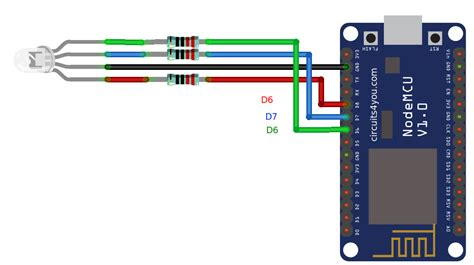 Esp Iot Based Rgb Led Strip Controller Circuitsyou