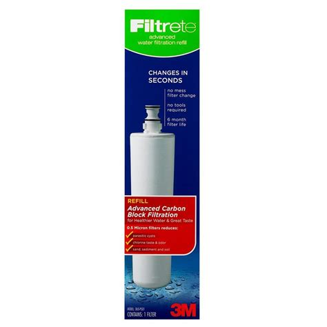 filtrete drinking water system advanced filtration refill