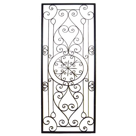 wrought iron wall ideas design hang striking wrought iron wall