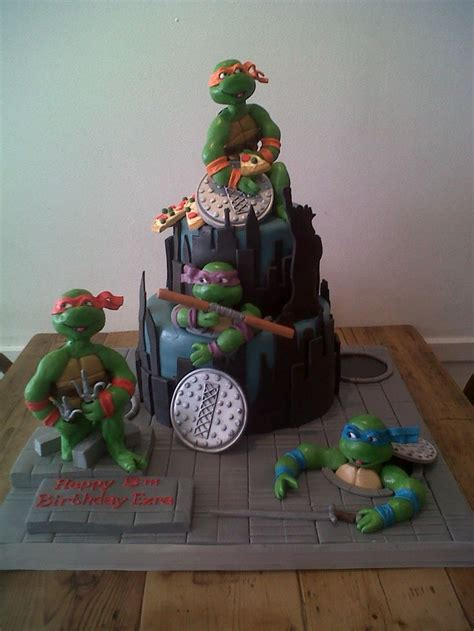 images  ninja turtles cookies cakes ideas
