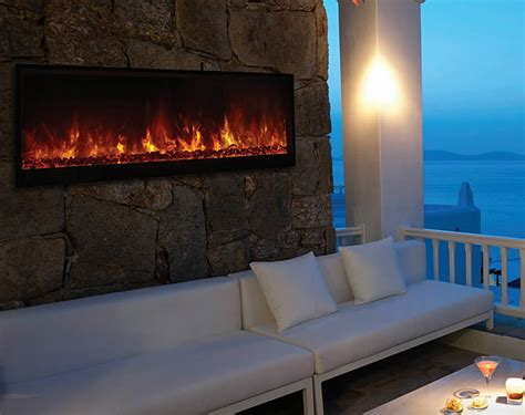 outdoor electric fireplace modern flames 60 quot nova outdoor electric fireplace fine s gas