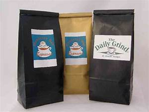 Gourmet coffee beans espresso beans organic coffee for Custom coffee bag labels