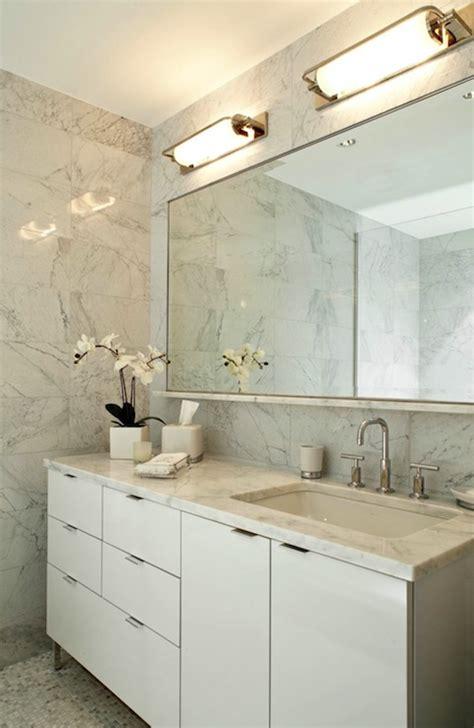 Modern Bathroom Counter Designs by Contemporary White Lacquer Bathroom Cabinets Design Ideas