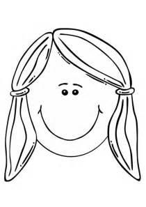 disegno di una ragazza da colorare disegno da colorare faccia di una ragazza cat 17105 images
