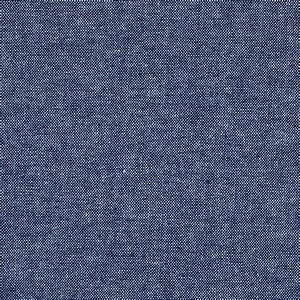 Cotton Chambray Shirting Indigo - Discount Designer Fabric