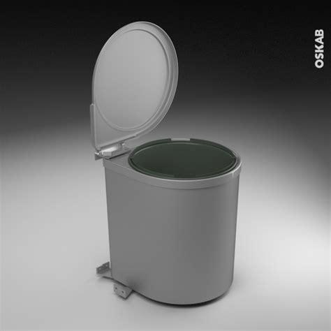 poubelle de porte cuisine poubelle de porte 13l 1 seau sous évier l28 x h35 cm
