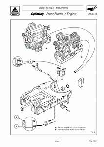 Massey Ferguson Mf 8240 Xtra Tractor Service Repair Manual