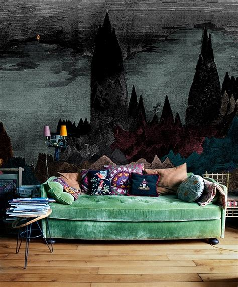 Tufted Velvet Sofa Furniture by 45 Pictures Of Bohemian Lifestyle