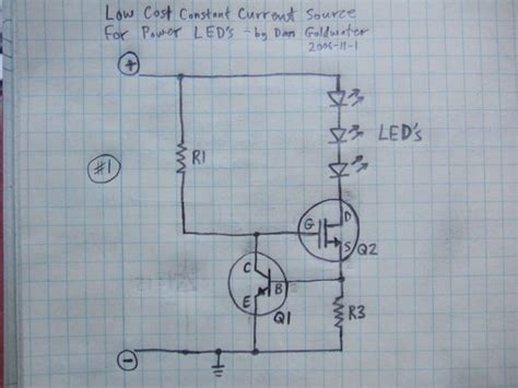 Power Supply Powering Leds Electrical Engineering