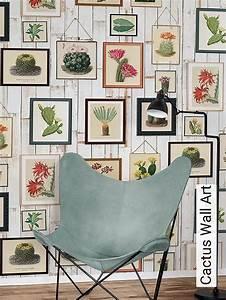 Wall Art Tapeten : tapete cactus wall art die tapetenagentur ~ Markanthonyermac.com Haus und Dekorationen