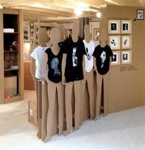 T-Shirt Cardboard Display
