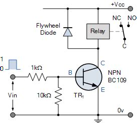relay switch circuit  relay switching circuit