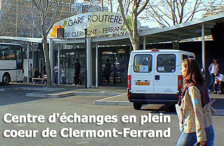 bureau de change clermont ferrand gare routière de clermont ferrand les horaires et lignes
