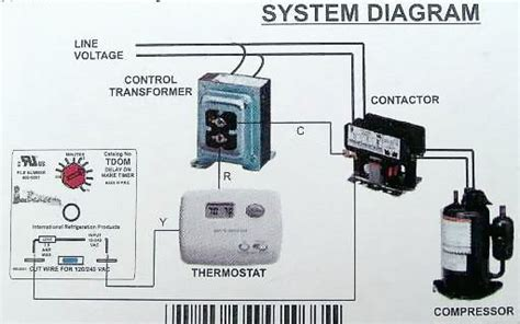 Side Split Air Conditioner Wiring Diagram Field by Tdom Time Delay On Make Relay Arnold S Service Company Inc