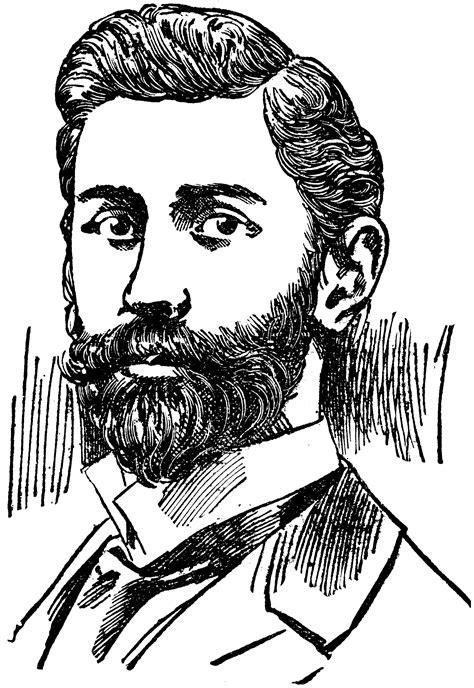 man  beard clipart