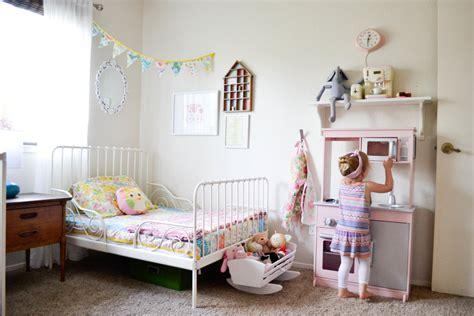 Shared Feminine, Vintagemodern Toddler Room  Project Nursery