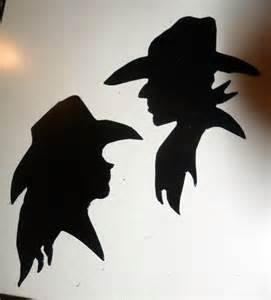 Cowboy Cowgirl Silhouette