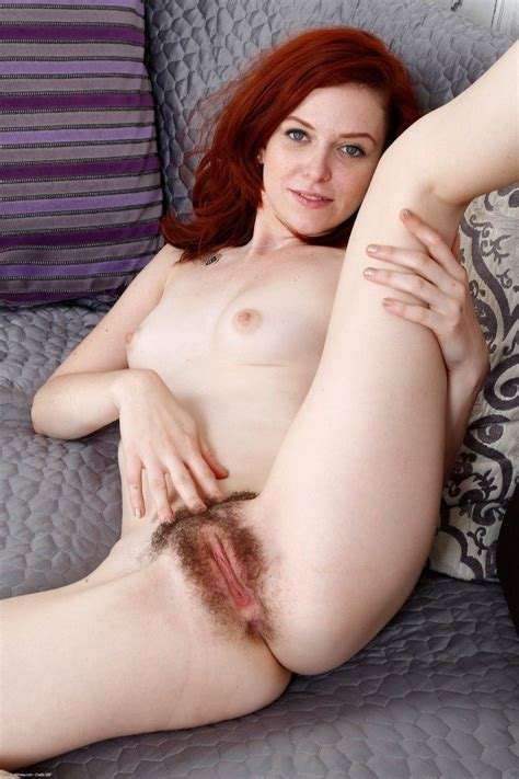 Natural Girl Emma Evins Spreading Her Hairy Pussy 2 Of 2