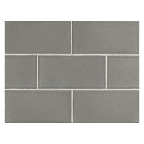 vermeere ceramic tile lt charcoal grey gloss 3 quot x 6