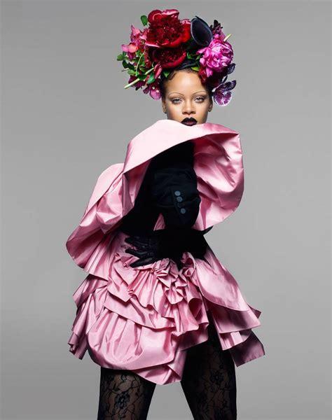 Snapshot Rihanna By Nick Knight For British Vogue
