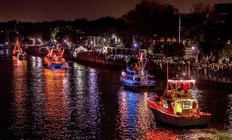 Boat Lights Stay On by Boat Parade December 5th City Walk