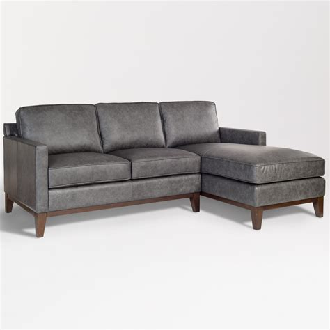 harlow sectional  facing chaise raf alder