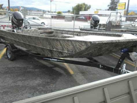 Aluminum Fishing Boats Spokane Washington by Lowe Boats For Sale In Spokane Valley Washington
