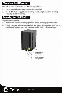 Calix 804mesh 804mesh Dual Wi