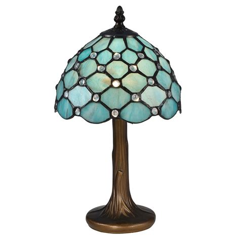 tiffany glass l shades springdale lighting 15 in castle point antique bronze